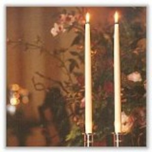 Taper candles carving up your world